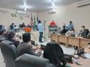 A convite do vereador Venâncio do Peixe, gerente do INSS de Bacabal participa de audiência na câmara para prestar esclarecimentos sobre a transferência de benefícios para outros estados.