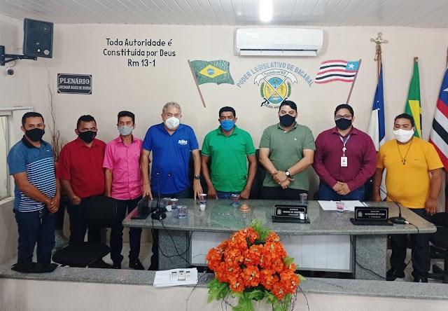 Câmara de Bacabal reúne com Equatorial Energia e SAAE para discutir falta de luz e água em Bacabal.