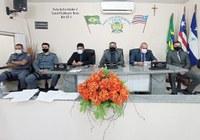 Câmara de vereadores de Bacabal discute segurança pública com os chefes das polícias Civil e Militar do município