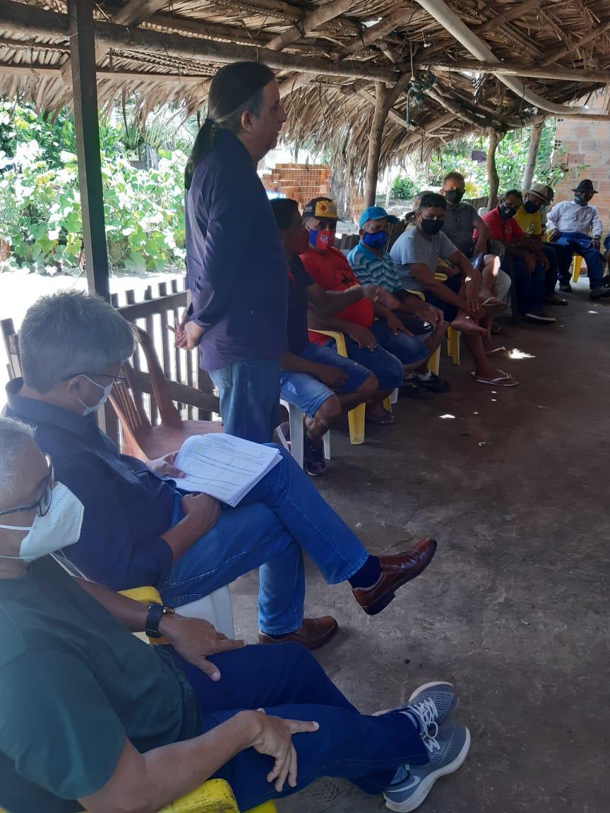 Por interseção do vereador Venâncio do Peixe programa de regularização fundiária do Estado ganha força em Bacabal e região