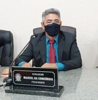 Presidente da câmara, vereador Manuel da Concórdia, apresenta Requerimento solicitando a instalação das lixeiras ecológicas em Bacabal