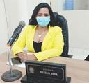 """Vereadora Natália Duda sugere a implantação da """"Patrulha Maria da Penha"""" em Bacabal"""