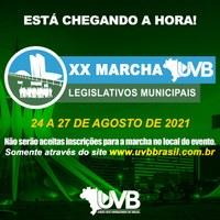 Vereadores de Bacabal participam da XX Marcha dos Legislativos Municipais em Brasília